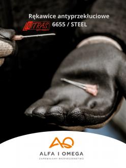 Rękawice ochronne Nitras 6655/STEEL