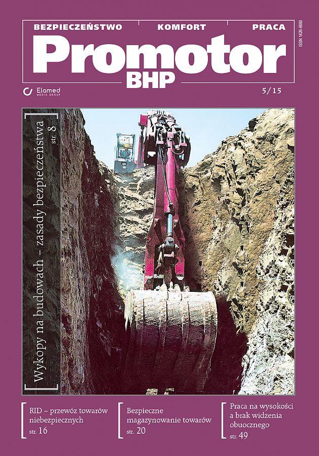 Promotor BHP wydanie nr 5/2015