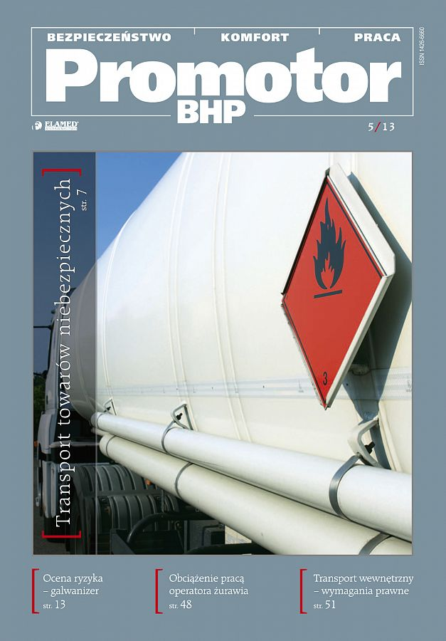 Promotor BHP wydanie nr 5/2013